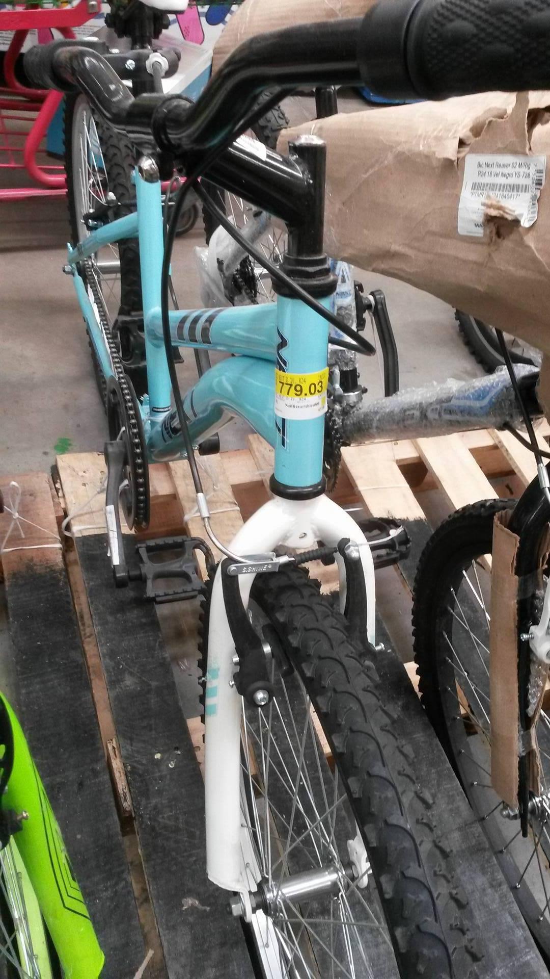 Bodega Aurrerá: bicicleta a $779.03