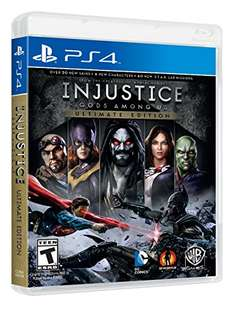 Amazon: Injustice Gods Among Us (Ultimate Edition) para PS4. Aplica Prime.