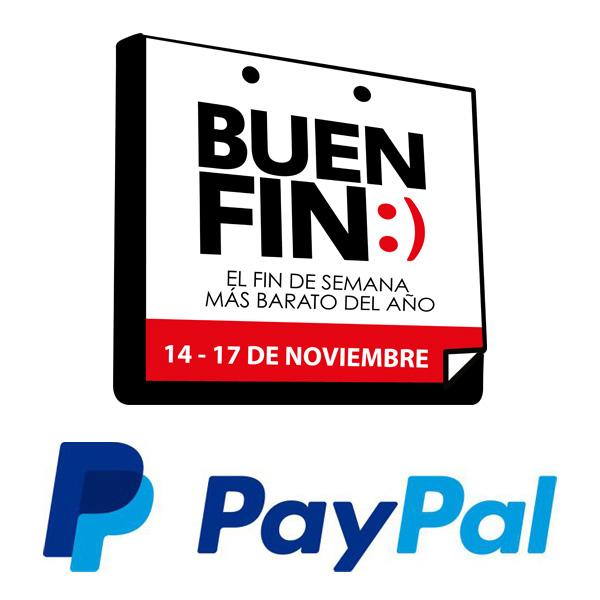 Promociones del Buen Fin 2014 pagando con Paypal