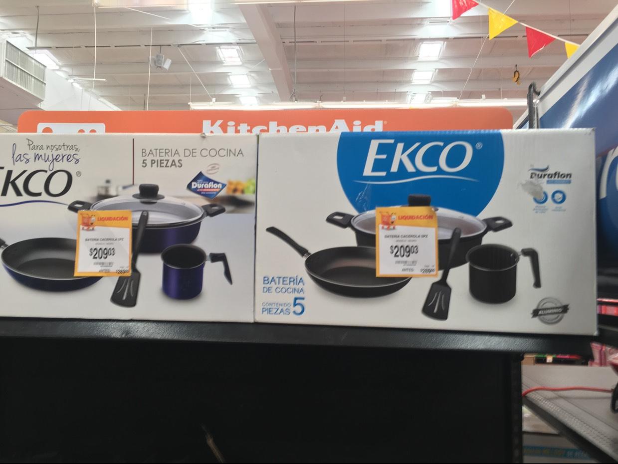 Walmart: Batería Ekco 5pzs