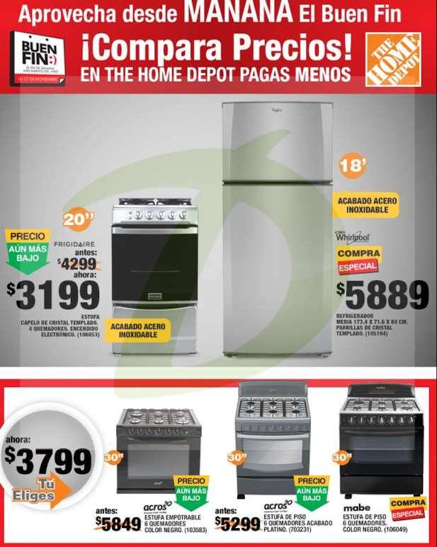 Ofertas del Buen Fin 2014 en Home Depot