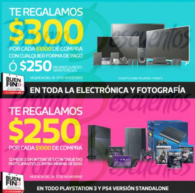 Ofertas del Buen Fin 2014 en Comercial Mexicana