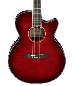 Linio: Guitarra electroacústica Ibañez AEG24II roja o gris a $3946 mas envío