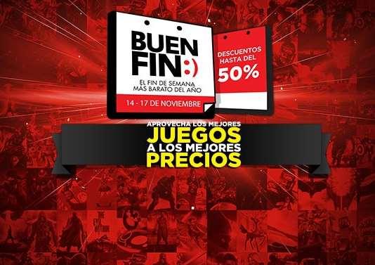 Promociones del Buen Fin 2014 en Game Planet: hasta 50% en juegos