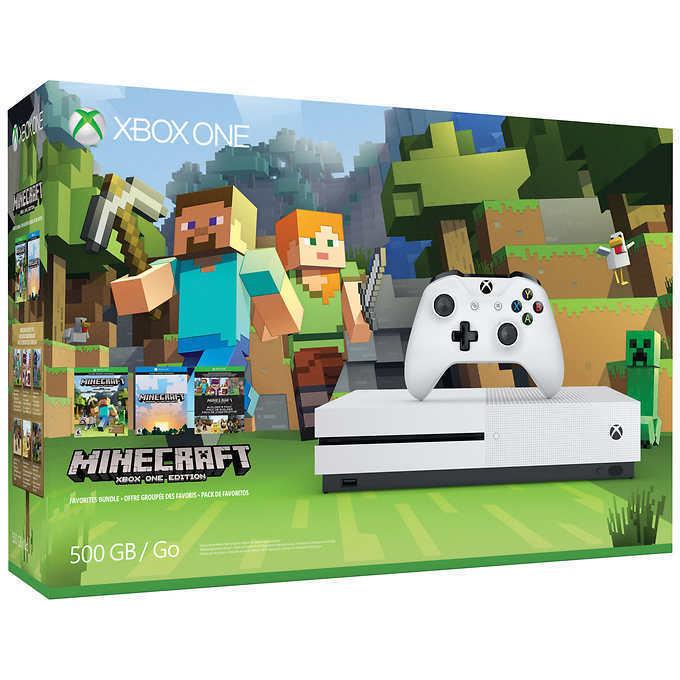 Ebay: Xbox one S bundle minecraft 500gb (con cupón e incluye el costo de utilizar Estafeta Members)