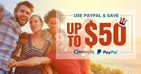 Geekbuying: cupones de descuentos escalonados pagando con Paypal  (hasta 50 dólares)