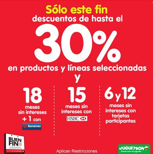 Ofertas del Buen Fin 2014 en Juguetron y Julio Cepeda