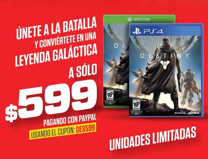Ofertas del Buen Fin 2014 en Gamers: Desinty $599
