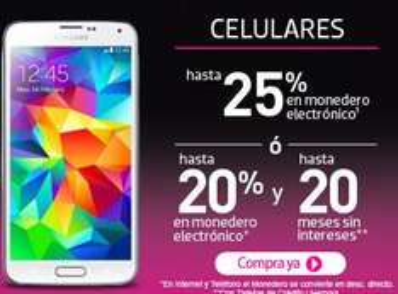 Ofertas en celulares venta nocturna Liverpool: Moto G $2,255, Lumia 520 $1,599, Galaxy S5 $9,903 y +