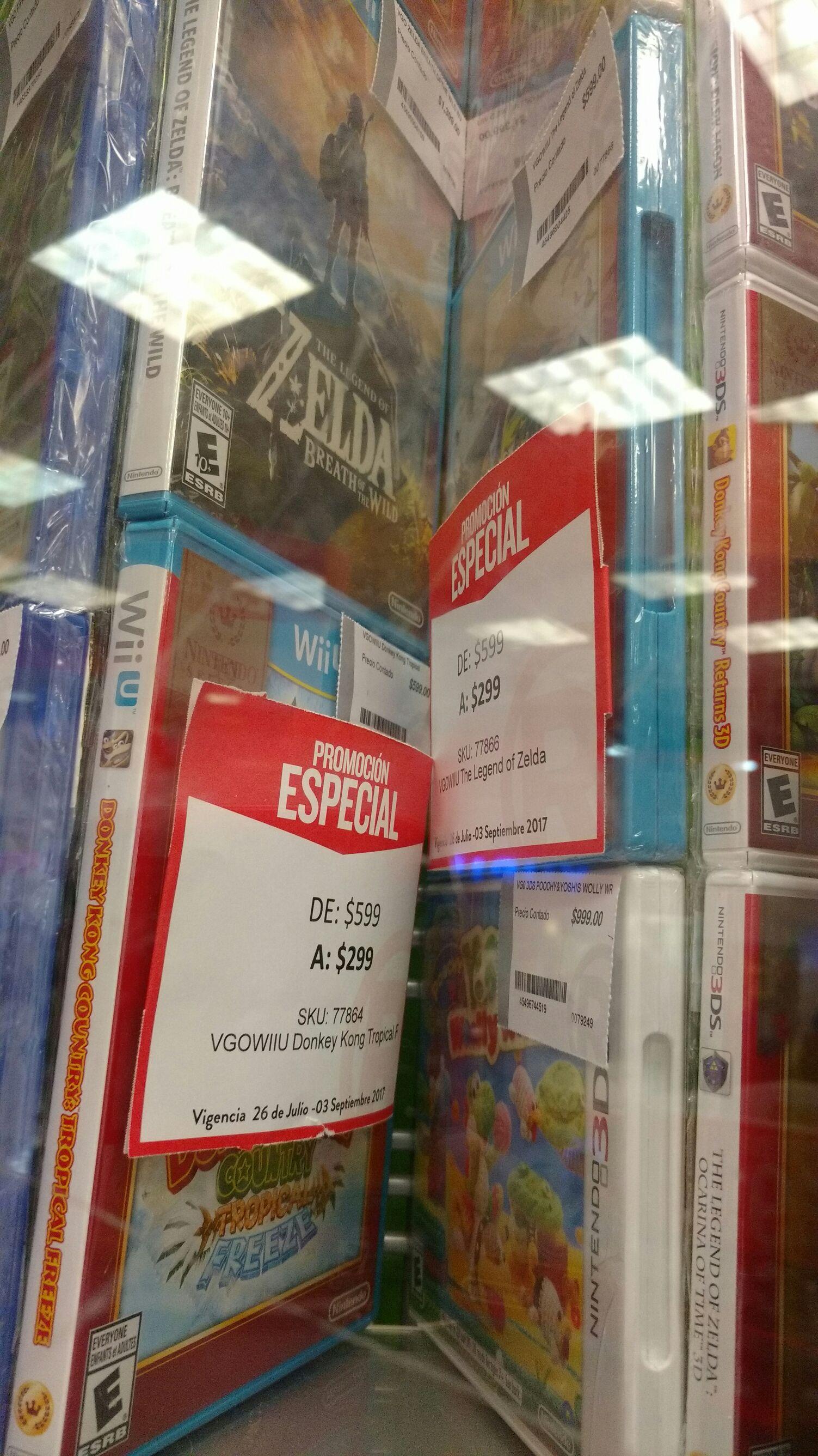 Radioshack: Donkey Kong Country Tropical Freeze para Wii U
