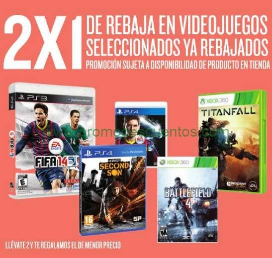 Ofertas del Buen Fin 2014 en Radioshack: videojuegos seleccionados 2x1