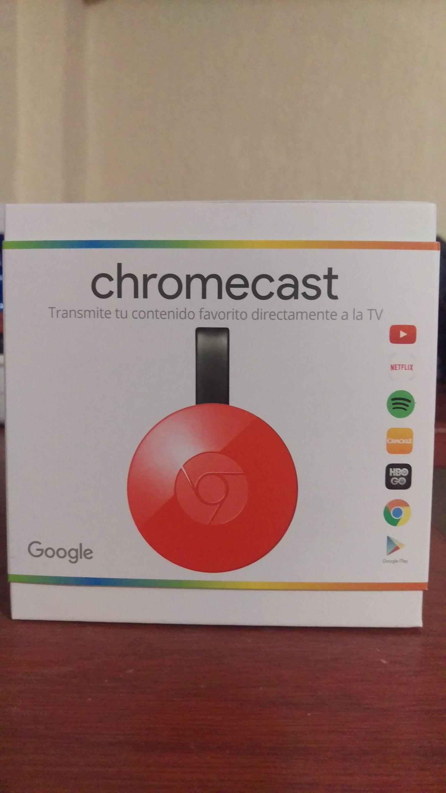 Radioshack: 20% de descuento en Chromecast