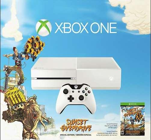 Ofertas del Buen Fin en Linio: Xbox One con Sunset Sverdrive a $4,761 con Banamex