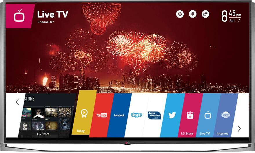 """Linio: Televisión LG 55UB8200 4K LED 3D 55"""" $14,205.15 (12,465.93 con banamex)"""