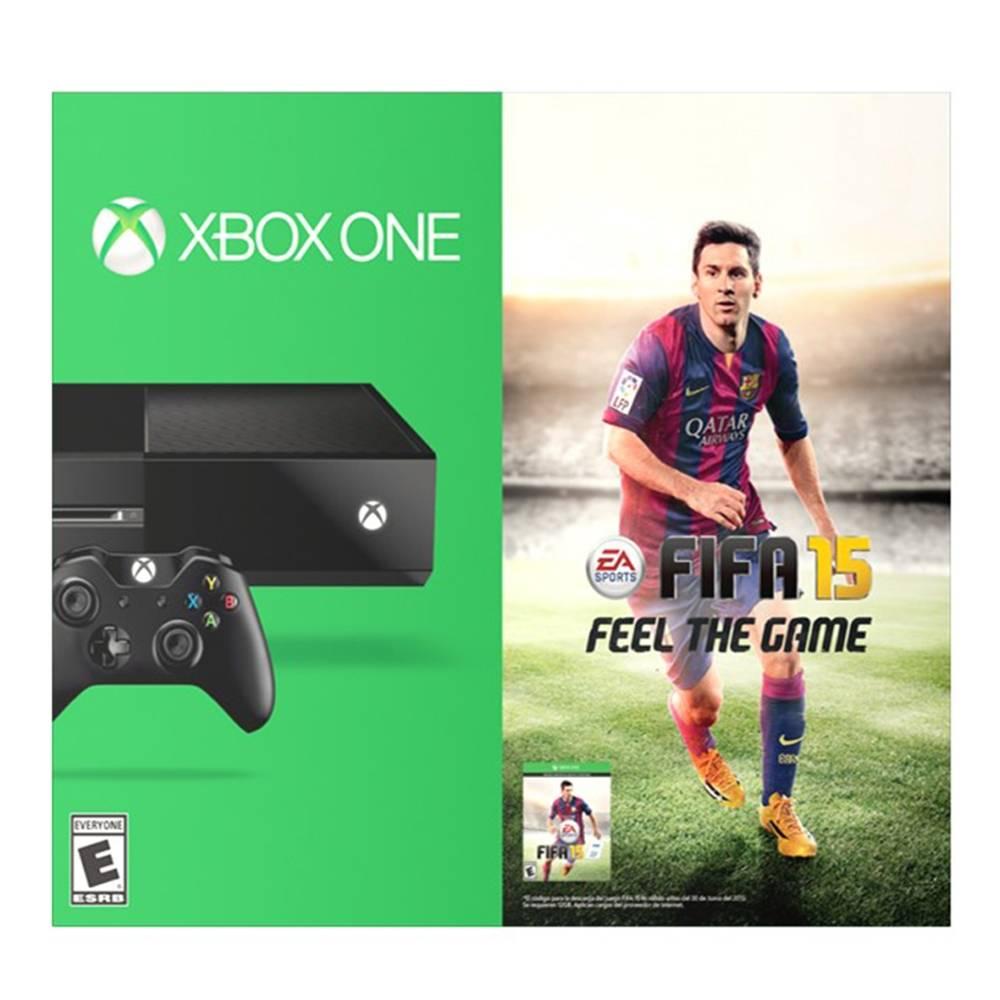 Xbox One con FIFA 15 en Walmart $6190.00 y hasta 24MSI