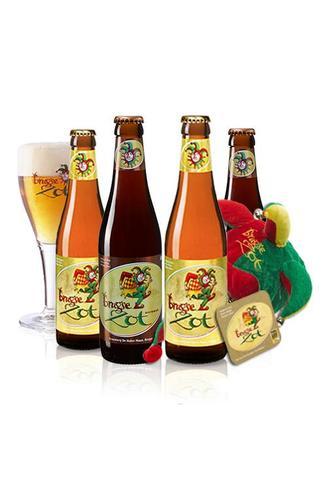BeerHouse: Brugse Zot Beerpack (10 cervezas + gorro + Coasters) Envio GRATIS