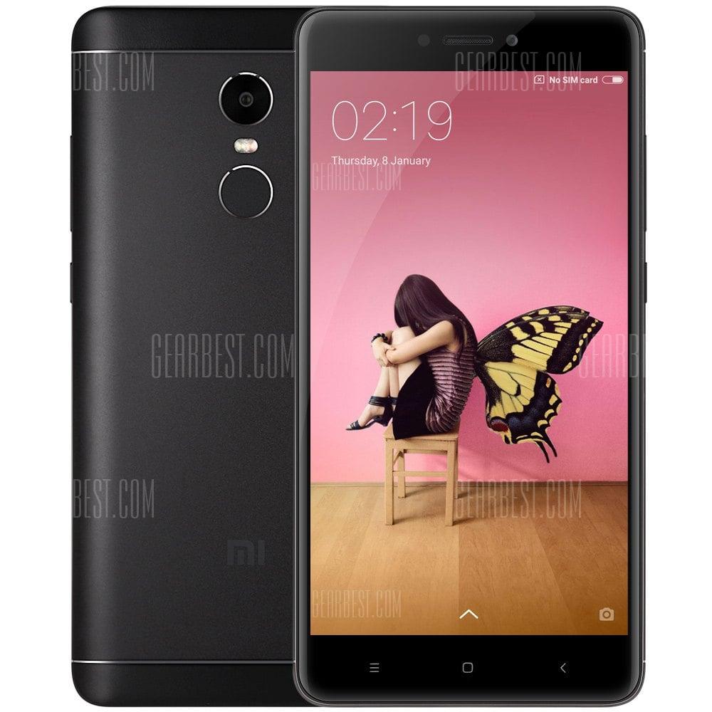 GearBest: Xiaomi Redmi Note 4X  Internacional