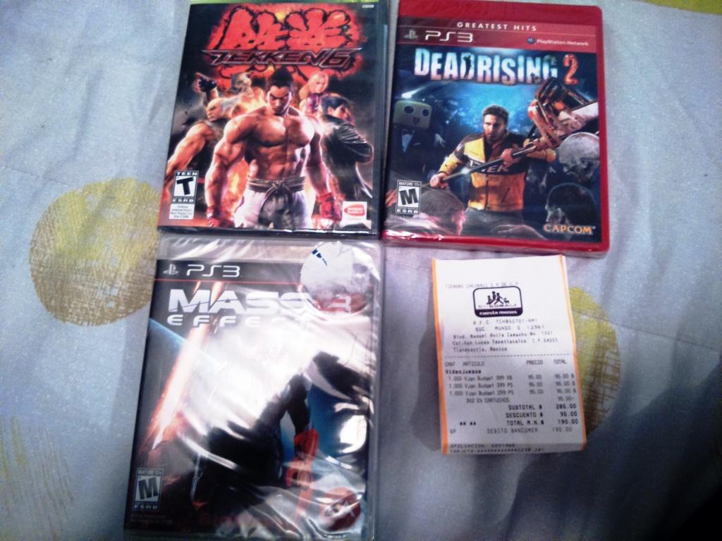 Chedrui: 3x2 en todos los videojeugos y arios titulos de Ps3, Xbox 360 y Wii a $90