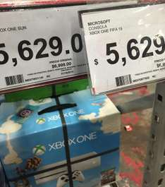 City Club: Xbox one con FIFA 15 o Sunset Overdrive $4690 con tarjeta Soriana, $5,316 con Banamex