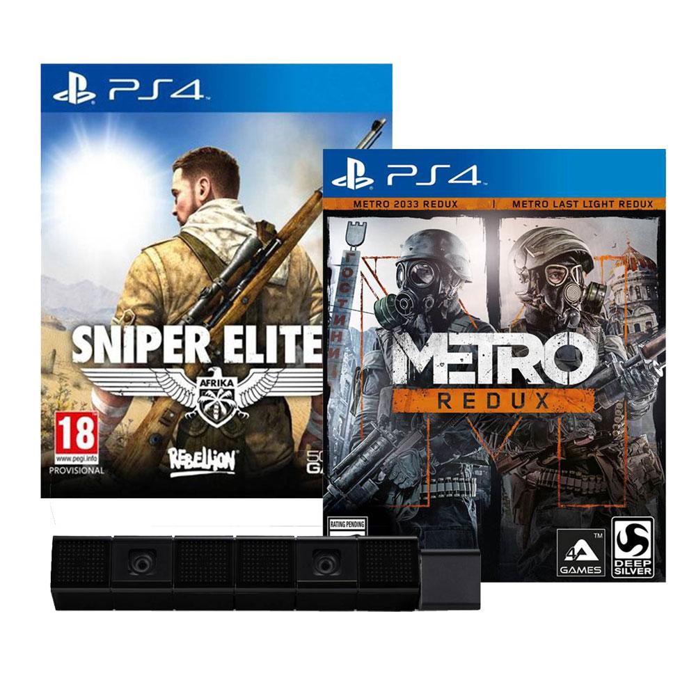 Walmart: Sniper Elite + Metro Redux Walmart + PS Camera $1,390