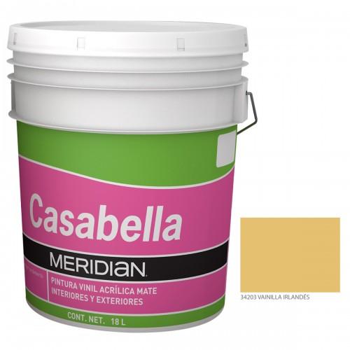 Chedraui:  Pintura Meridian Casabella Vainill 18 Lt