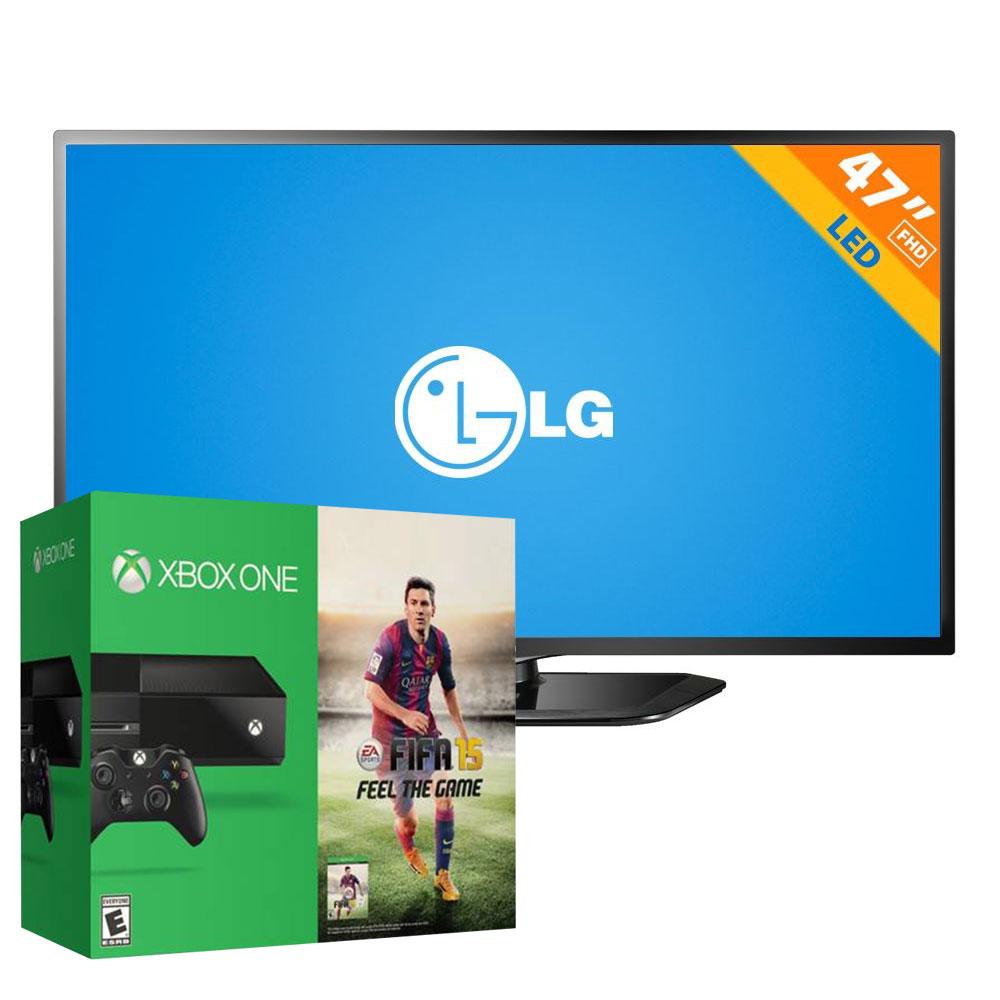 """Walmart: Xbox One y LED Smart TV LG de 47"""" $10,480 con Banamex"""