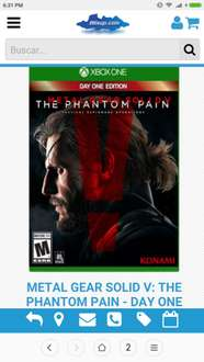 Mixup: Metal Gear Solid V The phantom pain day one edition