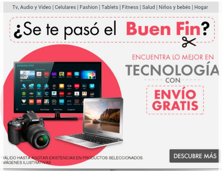 Linio: Envío gratis en tecnología y 10% de descuento