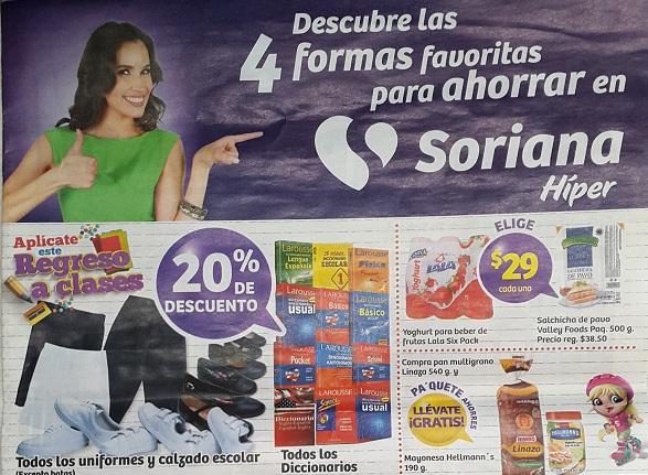 Soriana Híper: Folleto de Ofertas de Fin de Semana del 18 al 21 Agosto