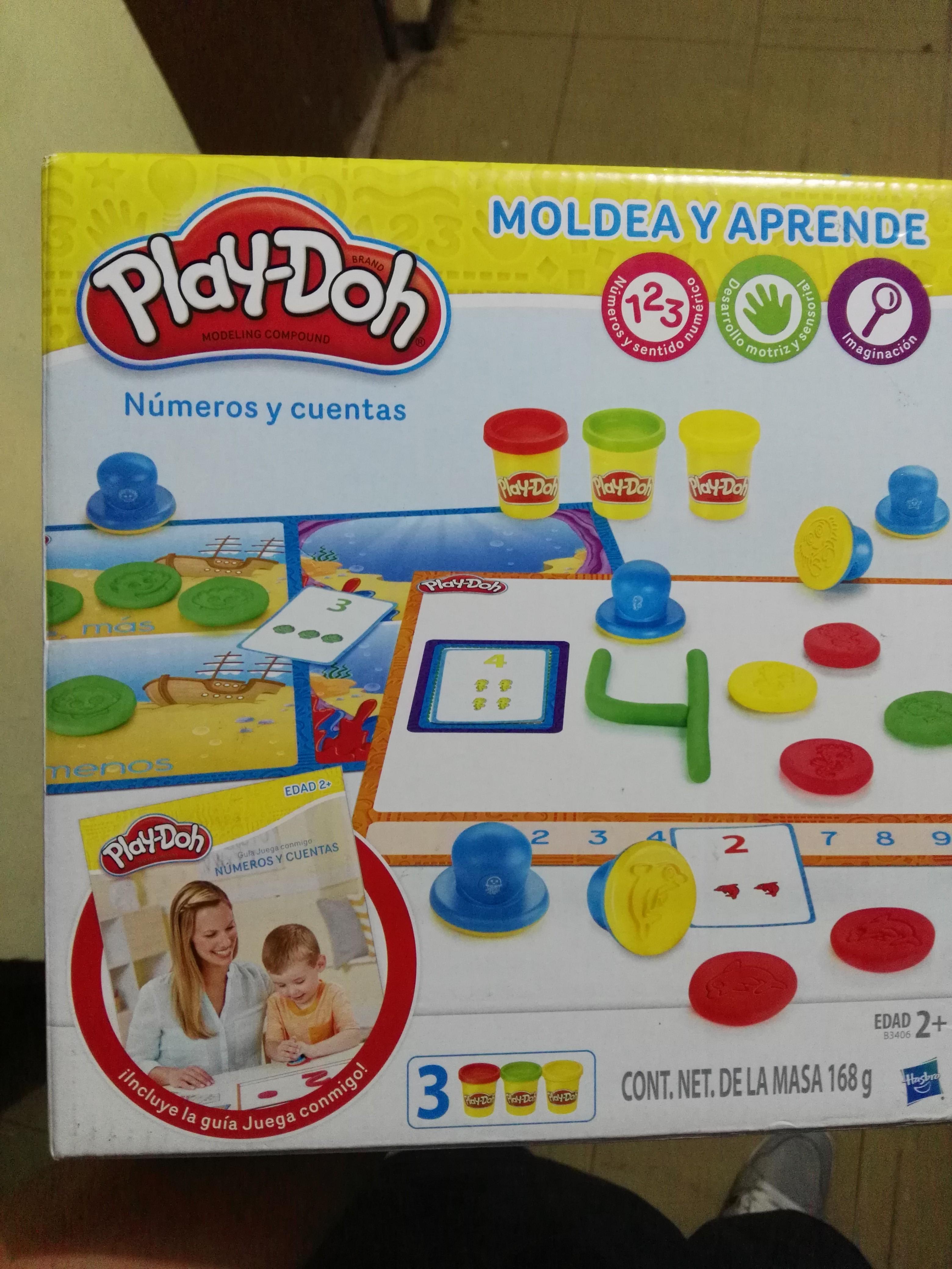 Bodega Aurrerá Lerdo: Juego de números Play-Doh a 50%