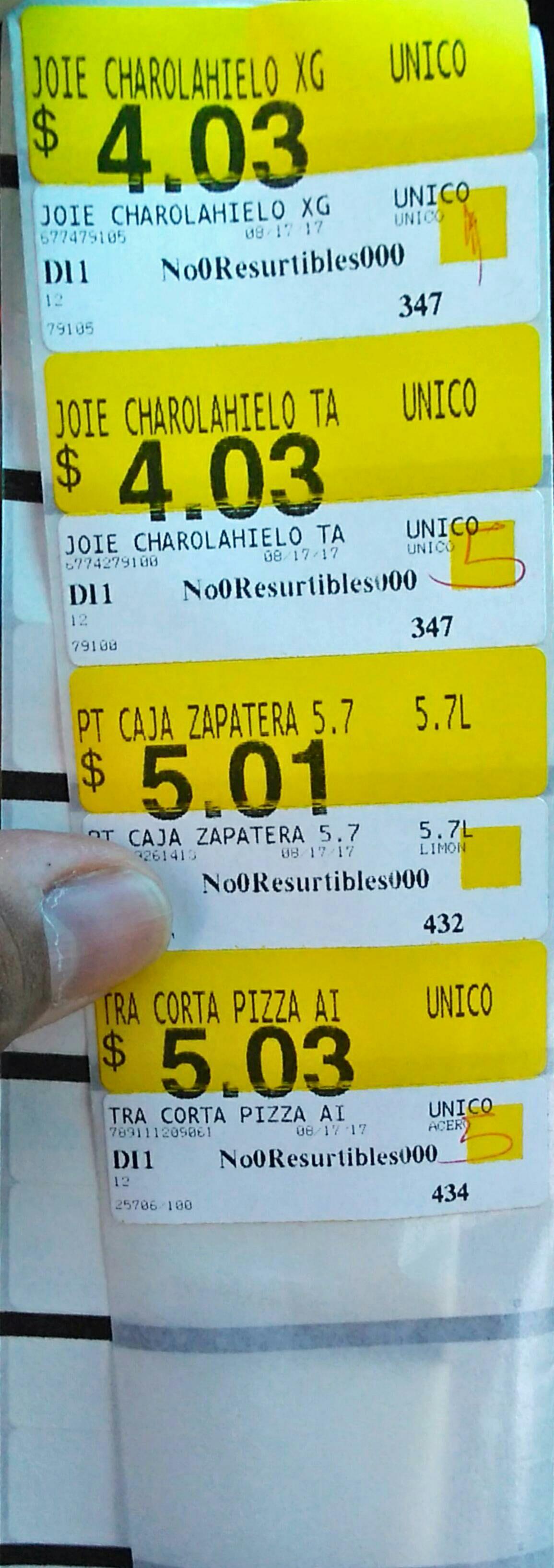 Walmart: Varios $1.03 y más liquidaciones.