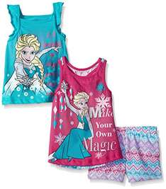 Amazon: Disney Frozen 3 Piezas Talla 3T Prime