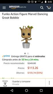 Amazon: Funko Action Figure Marvel Dancing Groot Bobble