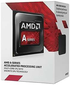 Amazon: Procesador AMD A8 7600 FM2+ 4MB Box series R7 gráficos 3.8