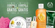 The Body Shop: compra 3 y llevate 3 más gratis