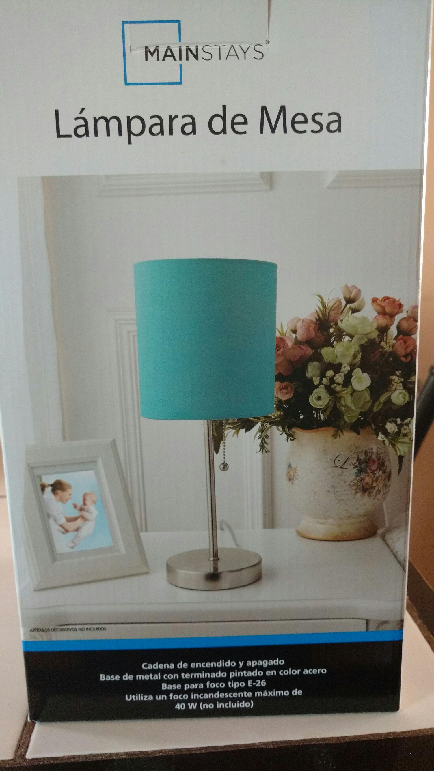 Bodega Aurrera N.L: Lámpara de mesa