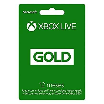 Amazon y Liverpool: Descuentos en Tarjetas Xbox Live Gold y Crédito (20% aprox.)