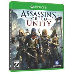 Assassin's Creed Unity descargable para Xone por $37.49 dólares