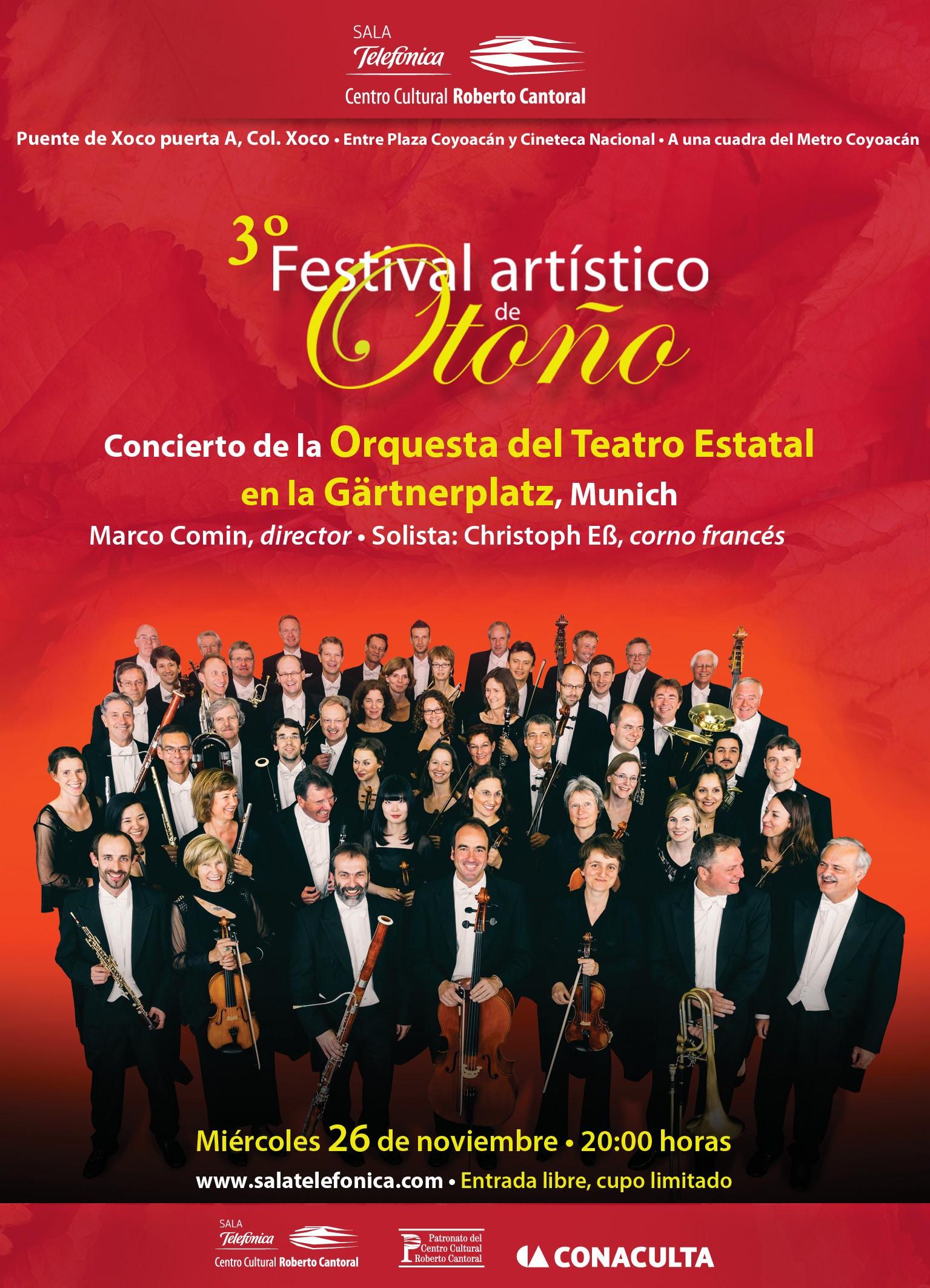 Orquesta del Teatro Estatal en la Gärtnerplatz de Munich GRATIS (DF)