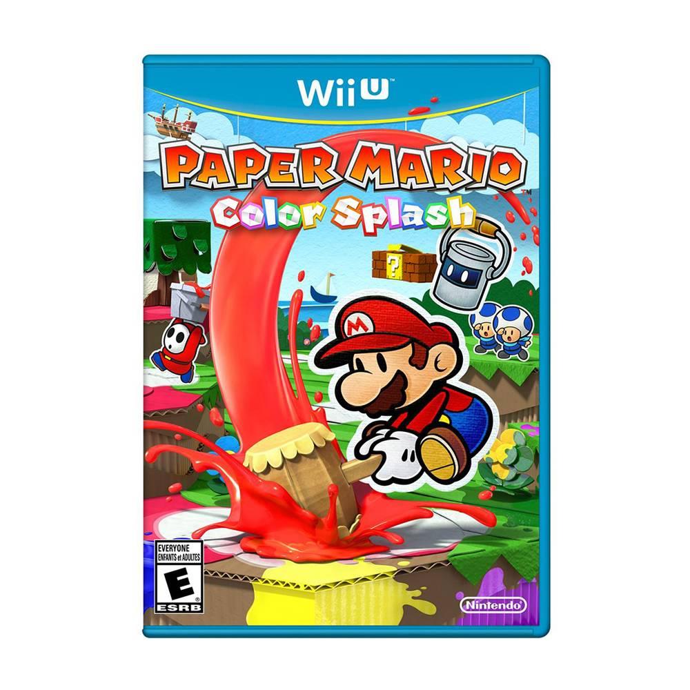 Walmart: Paper Mario Color Splash Nintendo Wii U