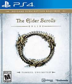 Mixup: THE ELDER SCROLLS ONLINE TAMRIEL UNLIMITED PS4