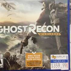 Game Planet: ghost recon wildlands gold edition. PS4