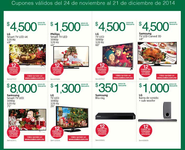 Folleto de ofertas en Costco del 24 de noviembre al 21 de diciembre