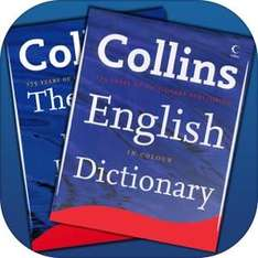 GRATIS: Collins English Dictionary and Thesaurus para iOS (Antes $519)