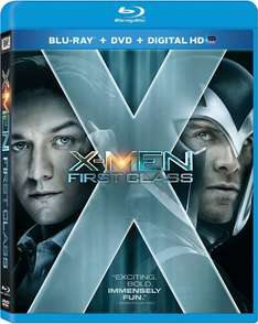 Amazon: blu-ray X Men first class $4 dólares , Xmen days of future past $10