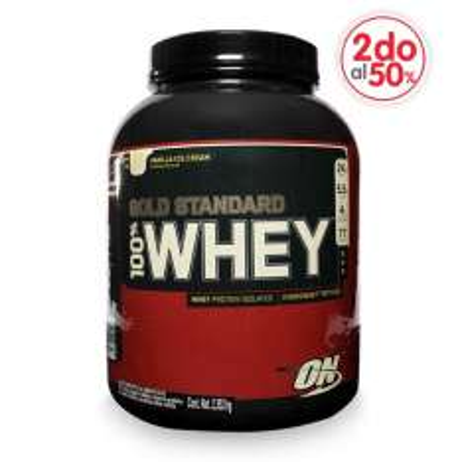 GNC: proteínas Optimun Nutrition segundo a mitad de precio