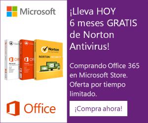 Black Friday Microsoft Store: 20% de descuento y Norton gratis por 6 meses al comprar Office 365