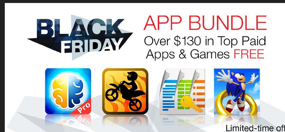 Black Friday Amazon appstore: aplicaciones gratis para Android