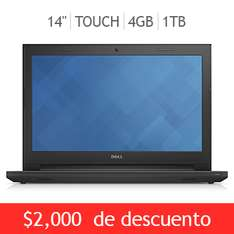 "Costco: laptop Dell 14"" touch Core i3 $7,999"