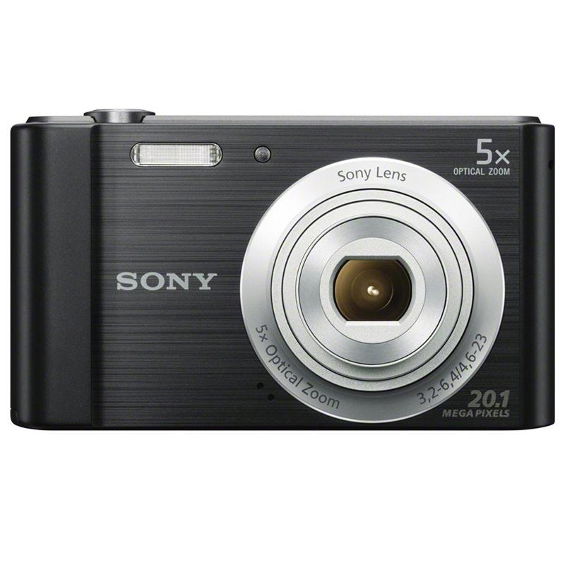 Linio: Camara Sony DSC-W800 20.1MP 5x-Negro $969